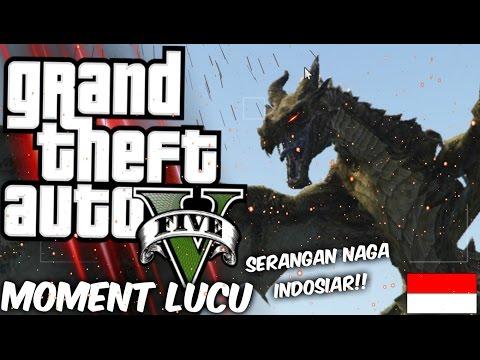 NAGA INDOSIAR MENYERANG KOTA! | GTA 5 Mod Moment Lucu (Bahasa Indonesia) w/ Fatihxd