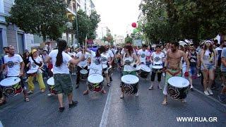 Барабанщики на гей-параде в Афинах 2015 / Drummers at Gay Pride