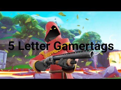 Clean OG 5 Letter Fortnite Gamertags Not Taken 2019 (Xbox/PS4) Pt 21