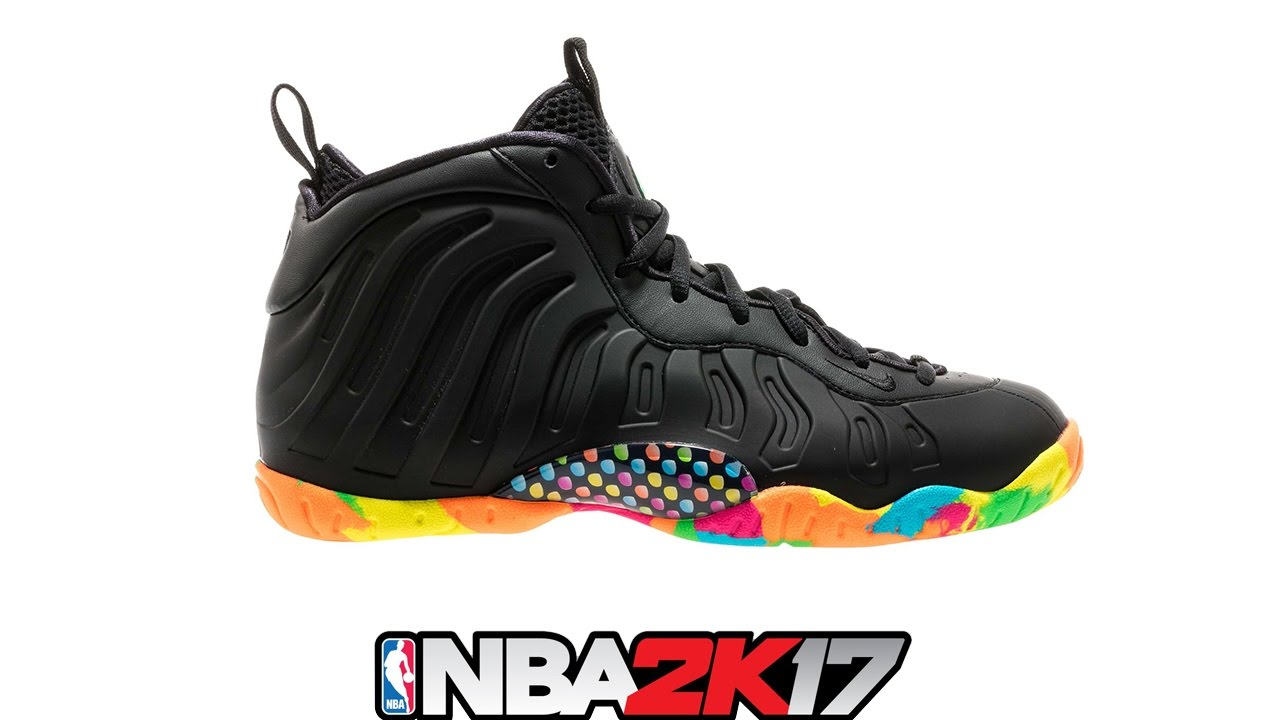 NBA 2K17 Shoe Creator ⋆#NBA2K17⋆ Foamposite Fruity Pebbles  <div class=
