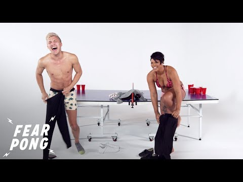 Brother vs. Sister (Devin & Jasmin) | Fear Pong | Cut