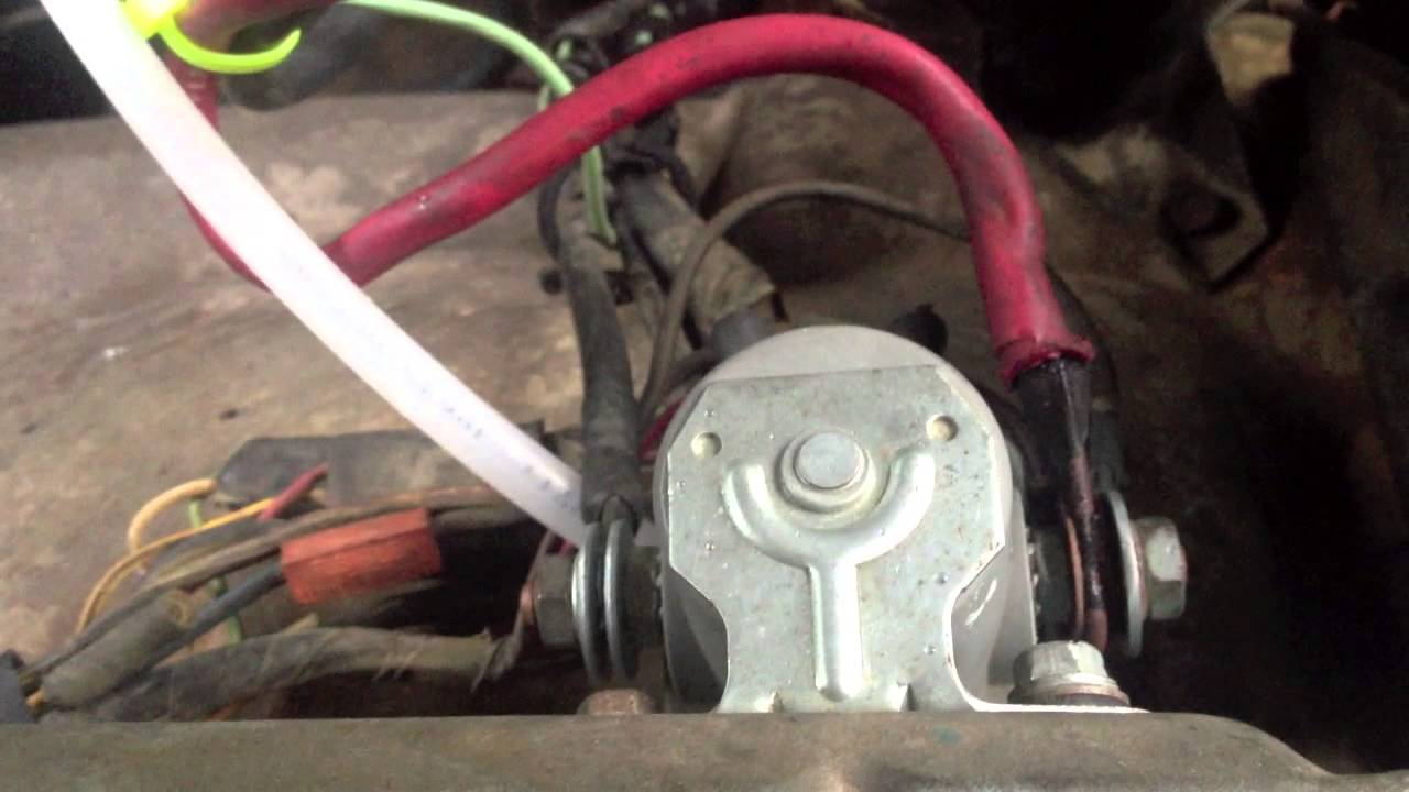 For Atv Winch Wiring Grizzly Solenoid Bypass Youtube
