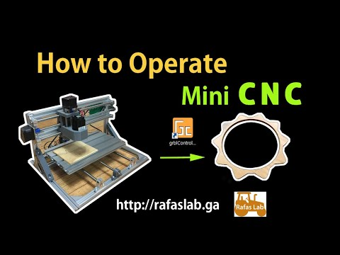 [New] How to operate the 3018 CNC machine
