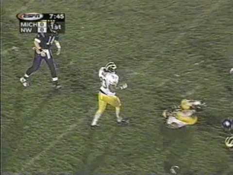 1998: Michigan 12 Northwestern 6