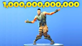 I Played Fortnite Default Dance Over 1 Trillion Times and This Happened...