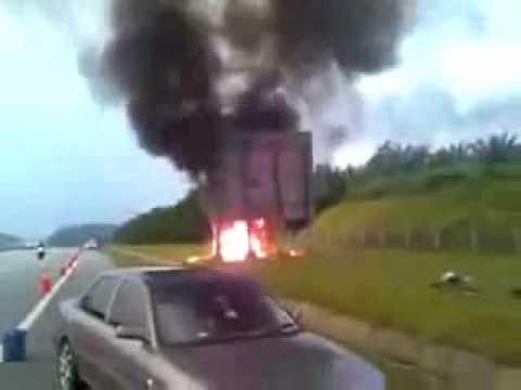 Video tragedi Achik Spin kemalangan.avi