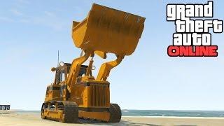 GTA Online: Bulldozer Location! HVY Dozer Secret Vehicle Locations Guide (Grand Theft Auto 5 Online)