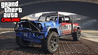GTA Online - THE BEST OFF-ROAD TRUCK (Canis Kamacho)