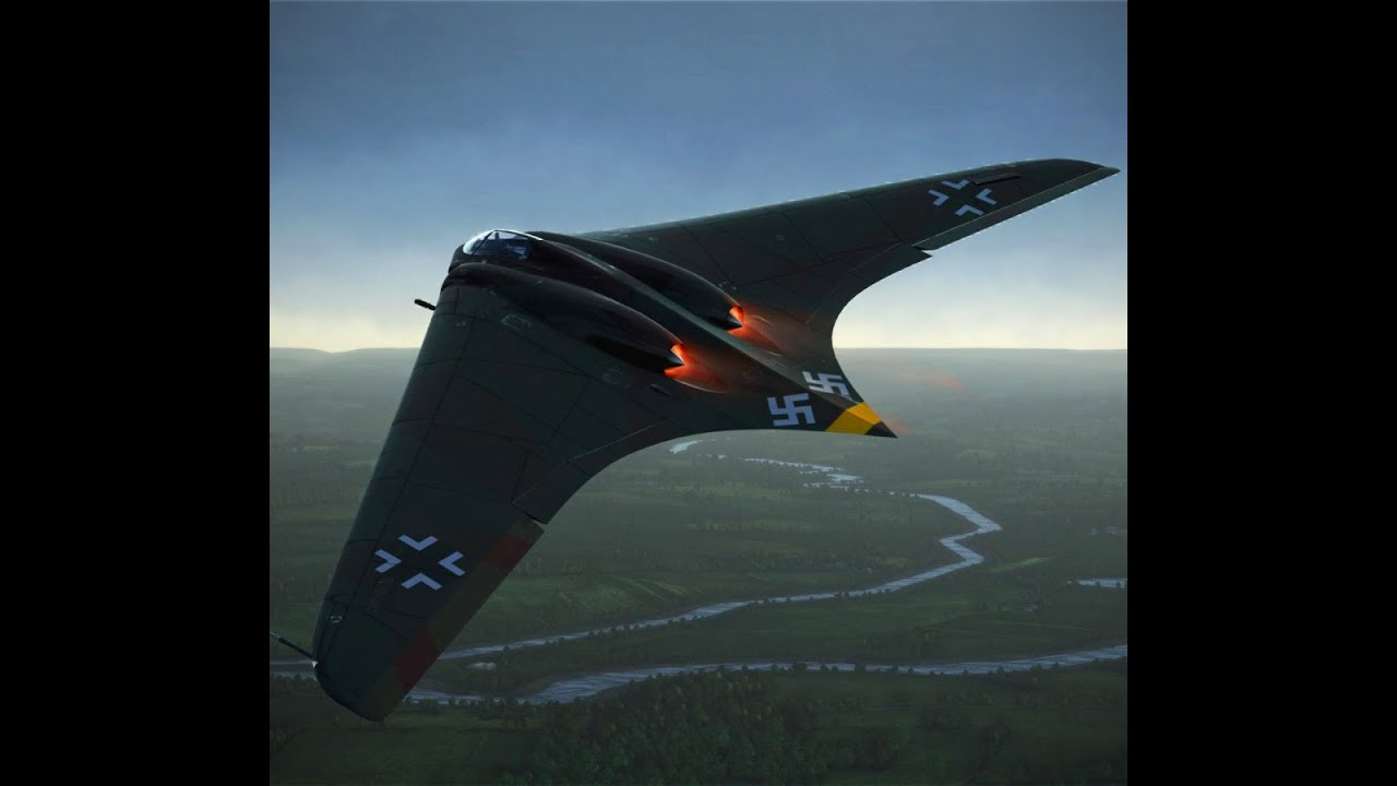 Ebay 3d Wallpaper Photo The Horten Ho 229 Hitler S Secret Nazi Aircraft Of World