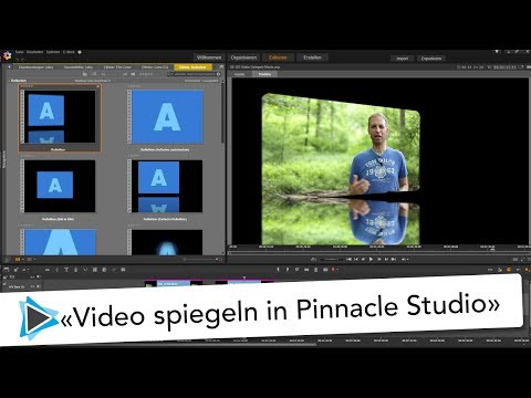 Video 3 Dimensional spiegeln mit Pinnacle Studio 20 Deutsch Video Tutorial