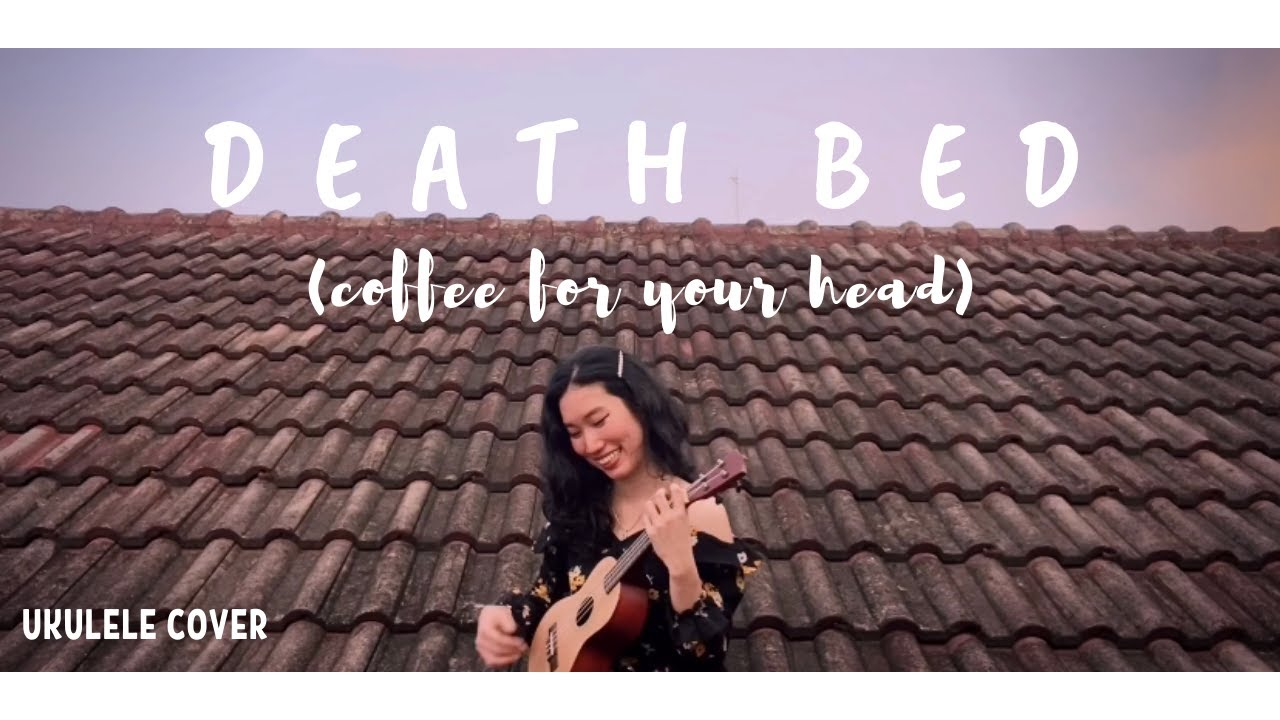 Powfu - death bed (Ukulele Cover) + Chords (coffee for ...