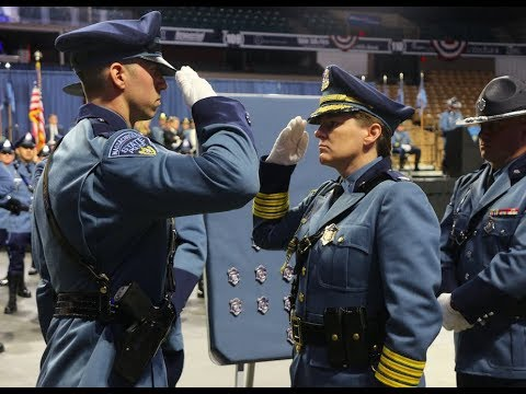 174 new Massachusetts State Police troopers report for duty Monday