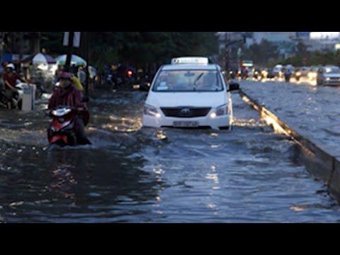 Tin tức 24h: Mưa lớn Ở TP. Hồ Chí Minh kéo dài, nhiều tuyến đường bị ngập