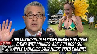 CNN Contributor Exposes Himself On Zoom, Voting With Dunkies, Adele To Host SNL, Apple Launches MTV