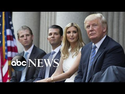 Donald Trump's Children: Ivanka, Don Jr., Eric Interview on New Roles | ABC News