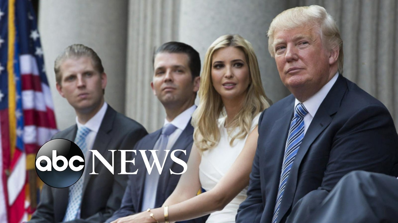 Donald Trump's Children Ivanka, Don Jr., Eric Interview on New Roles  ABC News
