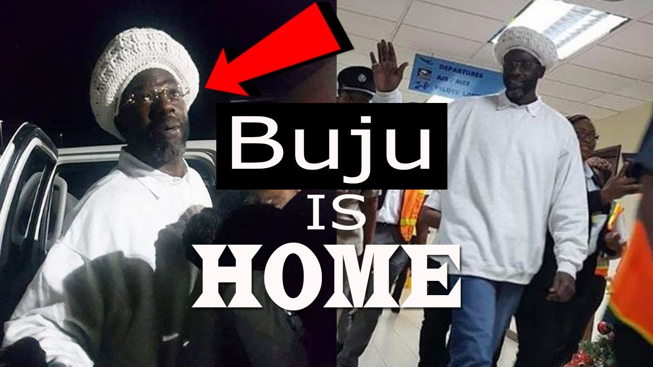Buju Banton's First Footage In Jamaica At The Airport | Buju Is Home 2018
