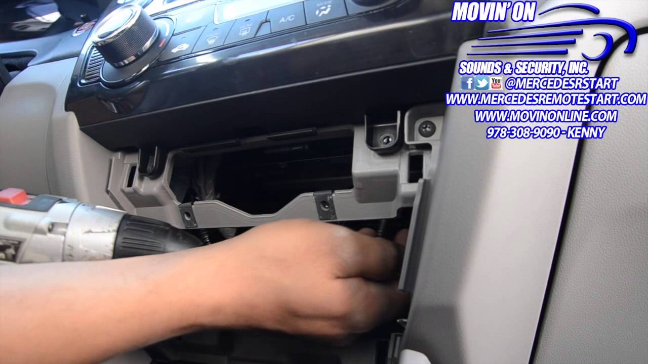 2014 2015 Honda Civic Dash Radio Removal How To Video Youtube