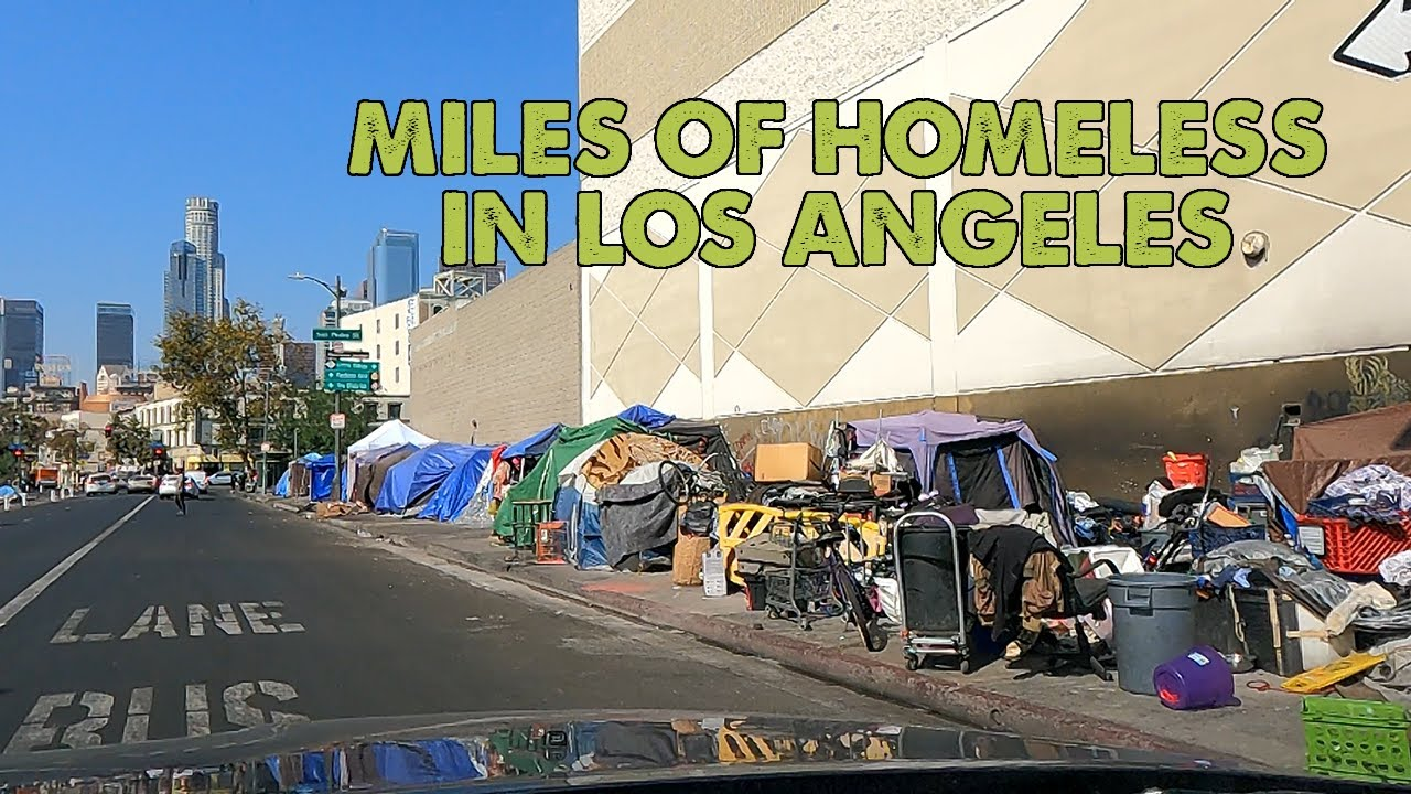 Here's a look at how bad the homeless problem in Los Angeles has become -  YouTube