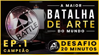 Art Battle - Desafio 20 minutos | Ep. 1 (Parte 3)
