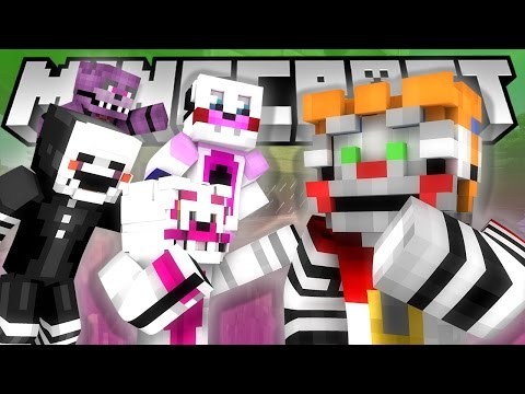 Minecraft Fnaf: Sister Location - Are Baby and Funtime Freddy Dating? (Minecraft Roleplay)