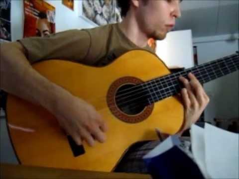 Download Flamenco guitar! - Alegrias falseta Manuel Granados (Manual didactico de la guitarra flamenca)