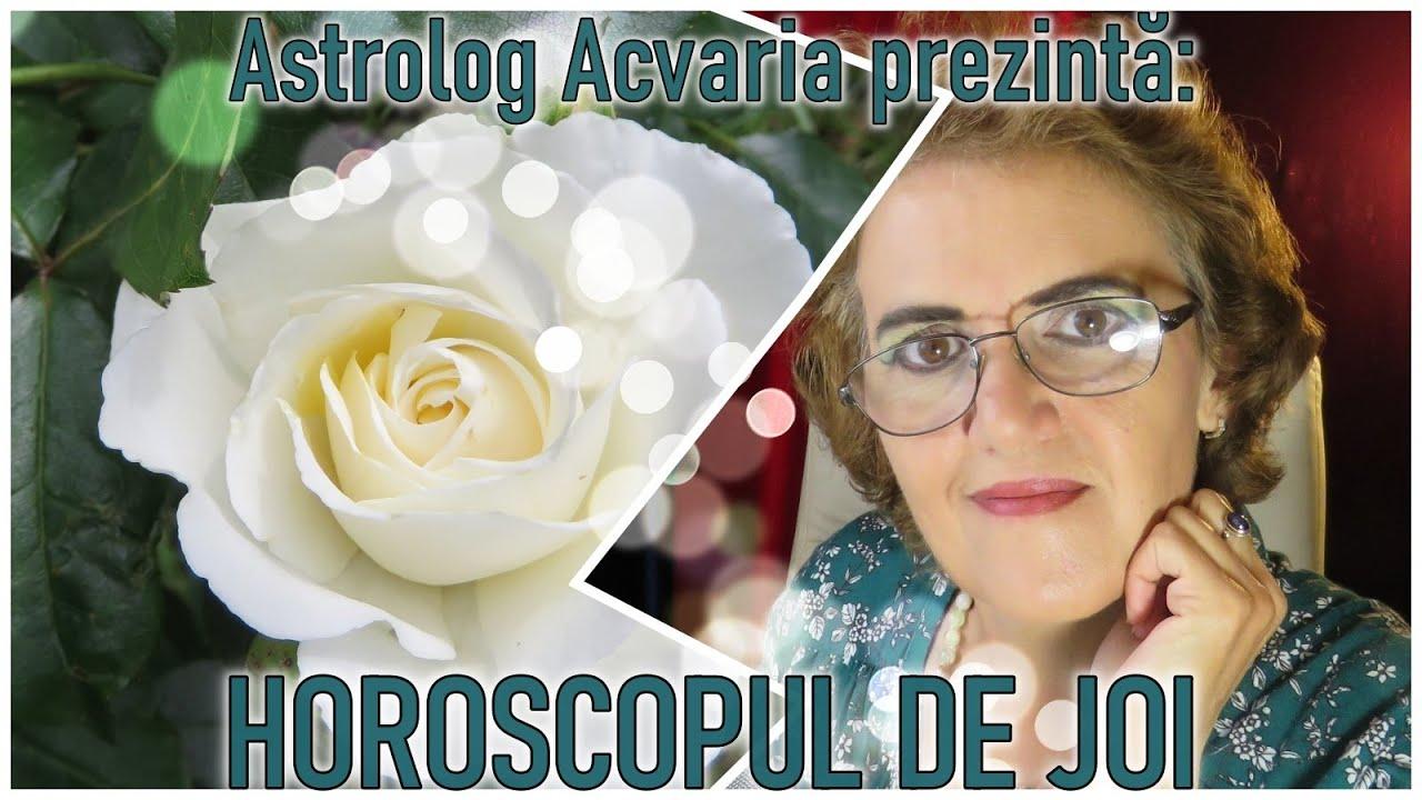 Horoscopul de JOI 15.10.2020 * Vezi si zodia natala si zodia ascendenta