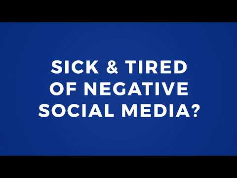 Today's social media is dominated by trolling, fake news, divisive political commentary & being forced to scroll through reams of meaningless corporate content delivered by algorithms. There's a better way. We believe social media should be about interacting with others in fun & meaningful ways, while avoiding the mind-numbing & negative impact of everything else you see on other social media sites. We're Positively Different, & working to transform social media into a space designed for good.