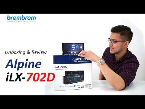 Headunit Alpine Paling Kekinian! Unboxing & Review Alpine iLX-702D   brembrem.com