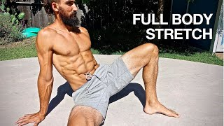 Full Body Stretching Routine (15 min. Follow Along)