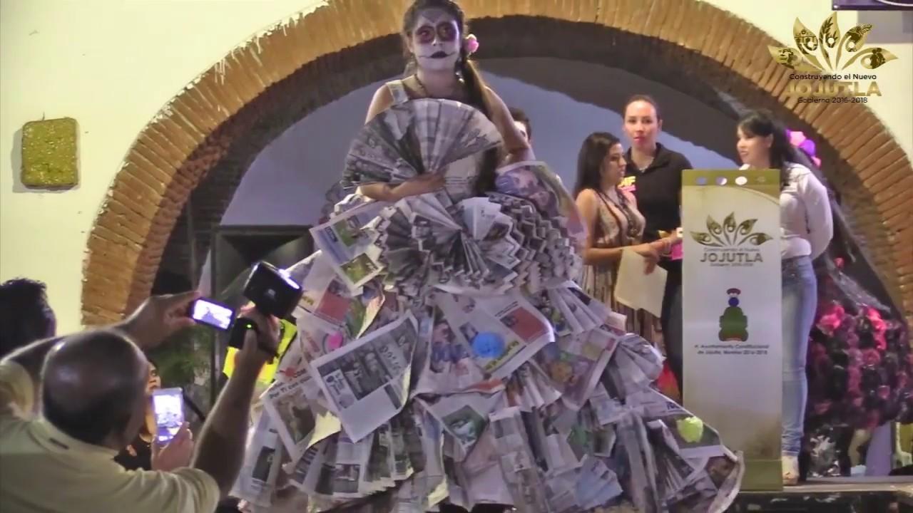 Concurso De Catrinas Con Material Reciclado Ipres Uaem Campus Sur Jojutla