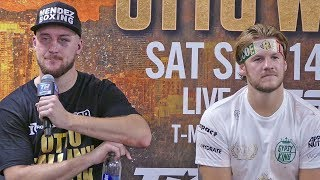 Tyson Fury vs. Otto Wallin FULL POST FIGHT PRESS CONFERENCE | Top Rank Boxing