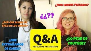 figcaption Q&A/P&R  -  ¿Qué extrañamos de Corea? ¿Lo peor de Youtube? ♥ #DTEC