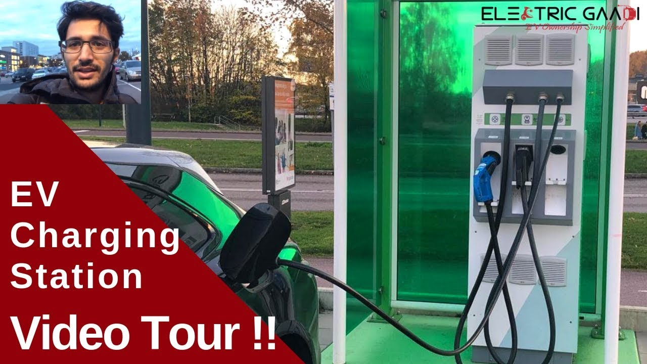 How Electric Vehicle Charging Station Works