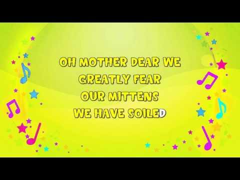 Three Little Kittens | Karaoke | Nursery Rhyme | KiddieOK