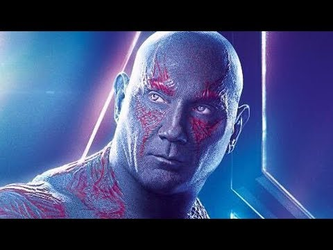 The Hilarious Infinity War Line That Was Dave Bautista Improv