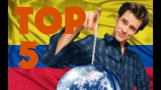 TOP 5 - Colombia en Hollywood (La mala imagen de Colombia)