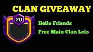 CLAN LEVEL 4 GIVEAWAY || ROAD TO 5000 SUBSCRIBERS ||