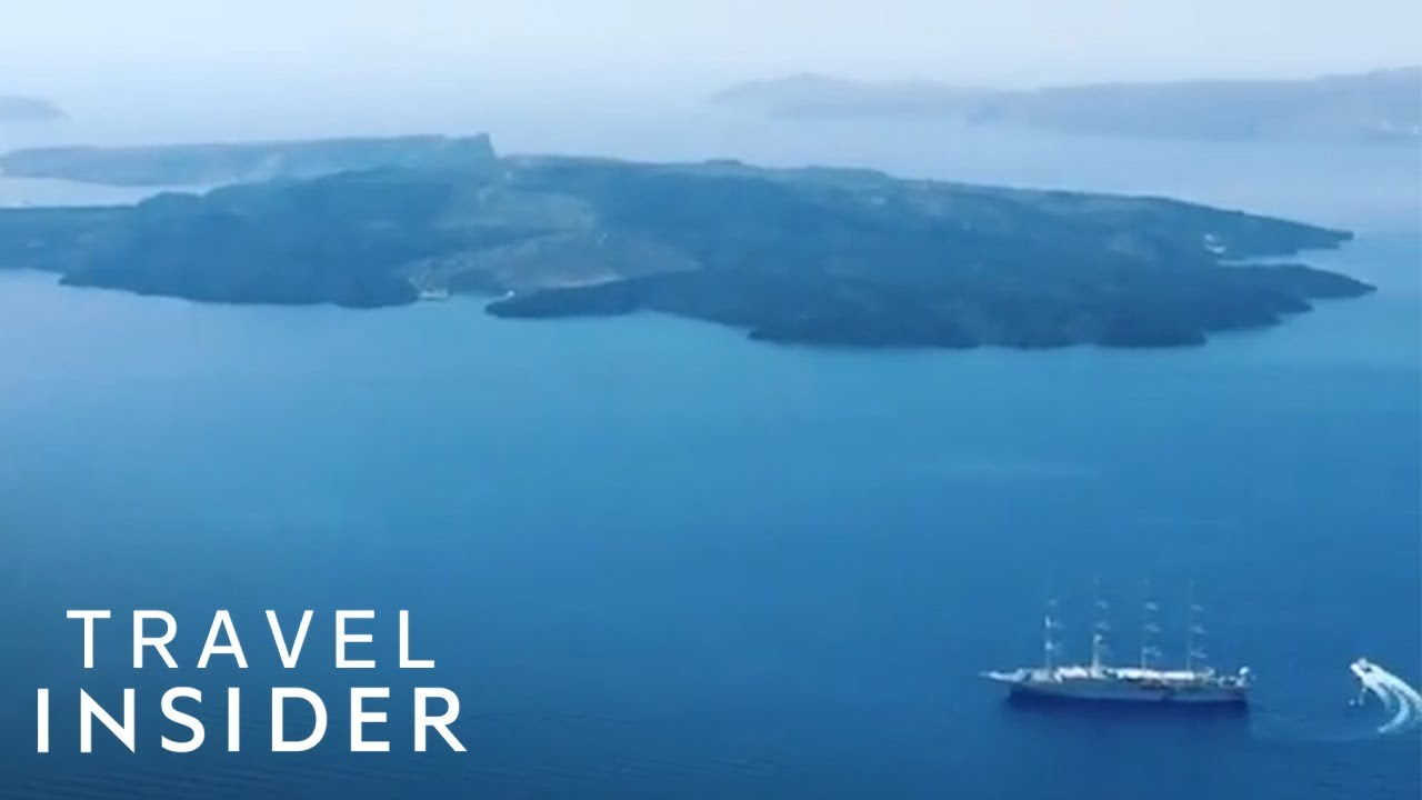 Cliffside Santorini Hotel Has Stunning Views Of A Caldera