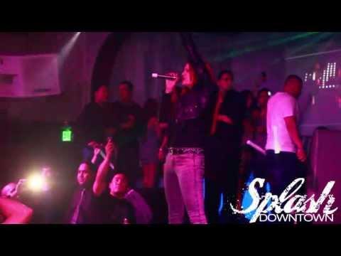 Nikki William: Glowing live @ Splash Nightclub 04.26.13