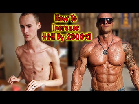 How to increase Human Growth Hormone (HGH) by 2000% without supplements?