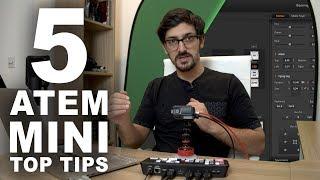 BlackMagic ATEM MINI: 5 Top Tips & Tricks | Save Setup, Monitor Audio + More!