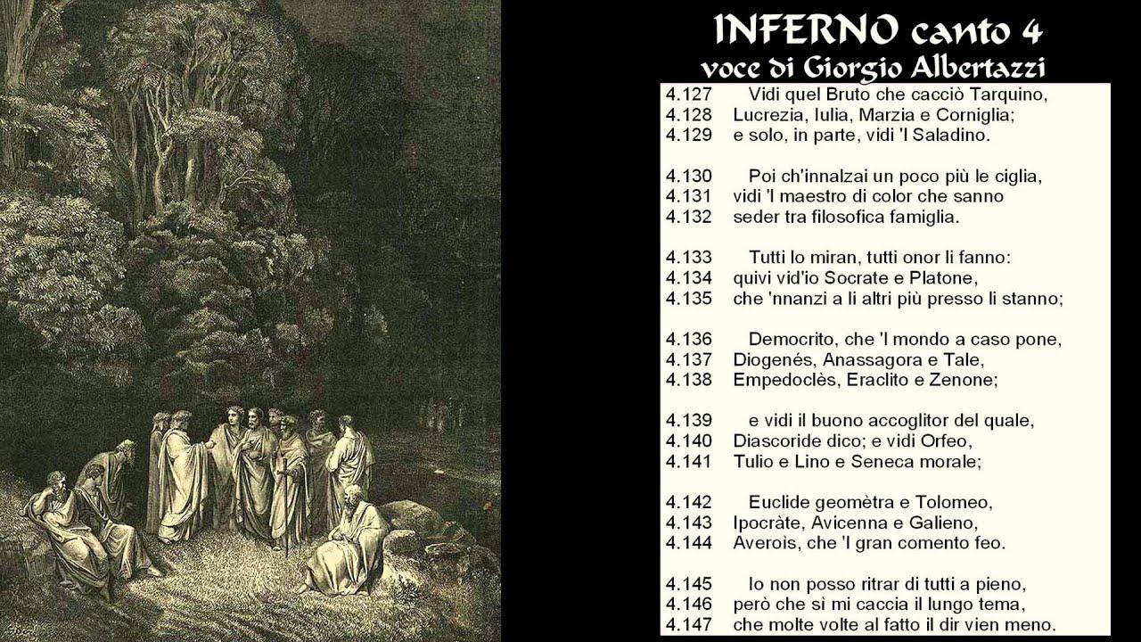 La Divina Commedia Inferno Canto Da 1 A 6 Youtube