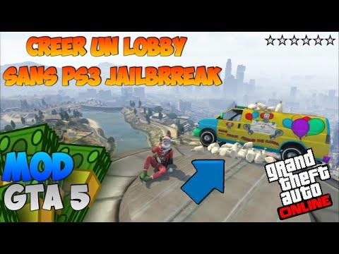 CREER UN LOBBY SANS PS3 JAILBRREAK //GTA5 ONLINE [HD]