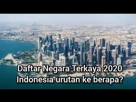 Daftar Negara Terkaya Di Dunia, Indonesia Urutan Ke Berapa?