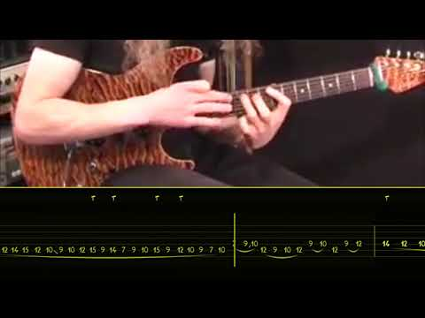 GUTHRIE GOVAN   FIVES   WITH Animated GUITAR Tab