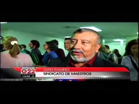 Noticias Mundo Fox 22: Report on the RIF Hearings on April 27, 2015