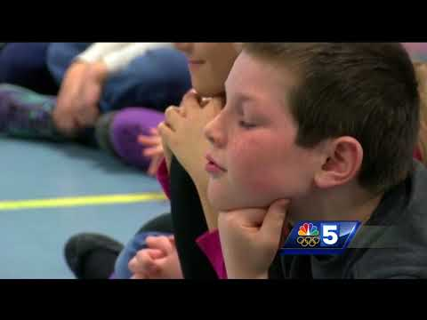 Third graders grill USA Luge with questions from crashing to hair styles