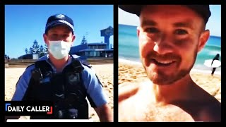 Man Confronted By Police In Australia For Sunbathing - A 'Non-Essential' Activity