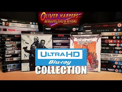 My Ultra HD 4K Blu-Ray collection!